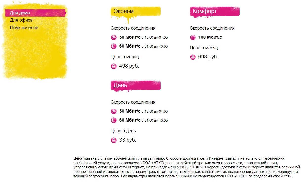 Сколько стоит подключить домашний Интернет