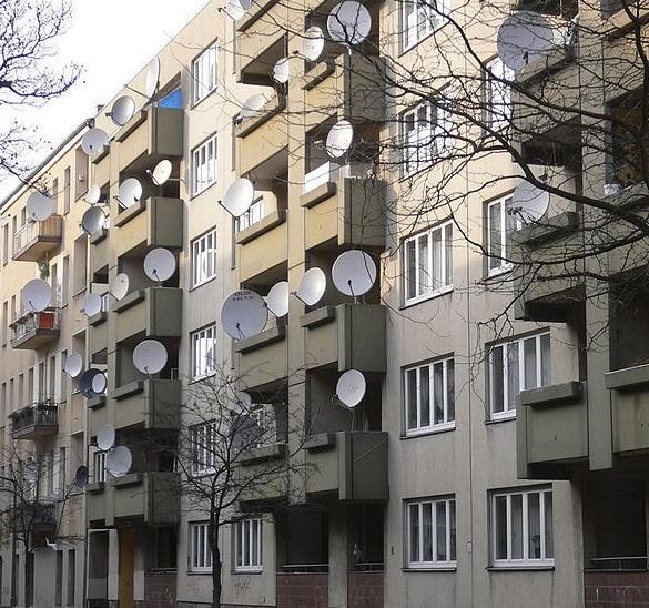 Спутниковое цифровое телевидение