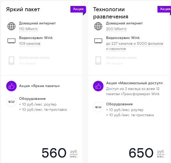 Тарифы на интерактивное телевидение Ростелеком Нижний Тагил